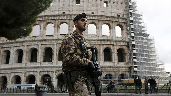 تشدید تدابیر امنیتی در آستانه جشن کاتولیک ها در رم