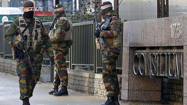 Bruselas, tercer día en alerta máxima