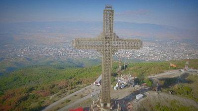 Macedonian Postcards: Vodno Mountain, Skopje