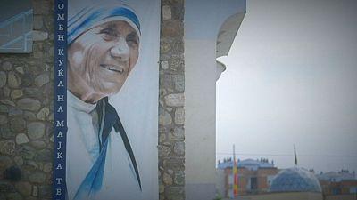 Macedonian Postcards: Memorial House of Mother Teresa