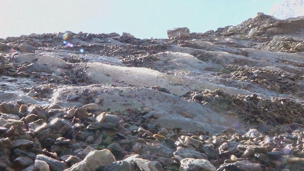Monte Rosa Glacier shrinking fast say scientists