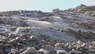 Monte Rosa Glacier shrinking fast say scientists