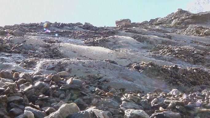 Gletscherschmelze in den Alpen - Klimawandel messbar