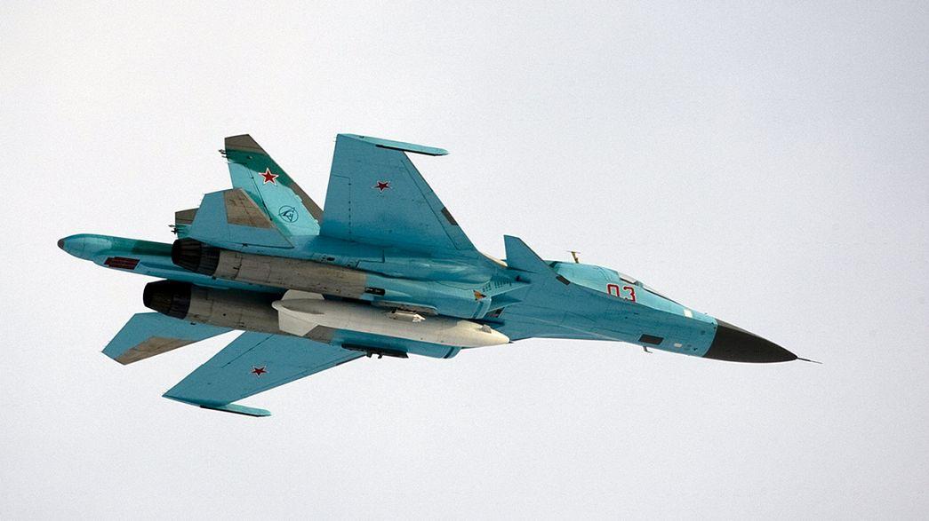 Rusia multiplica sus bombardeos en Siria con 472 objetivos en 48 horas