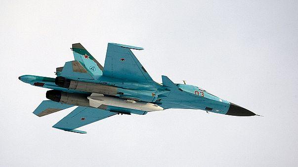 Força aérea russa bombardeia 472 alvos na Síria