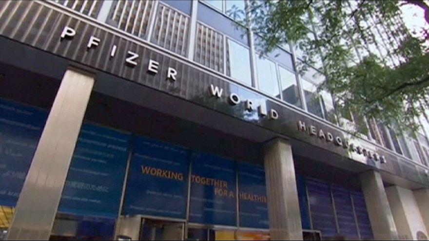 Pfizer et Allergan scellent la plus grosse fusion de l'année