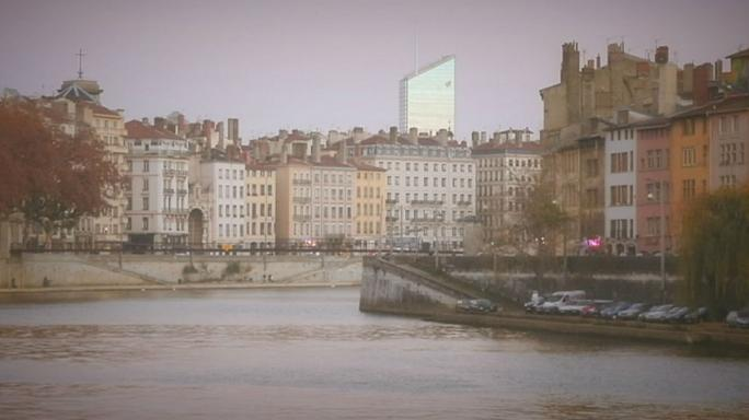Mira cómo cambia el horizonte de Lyon