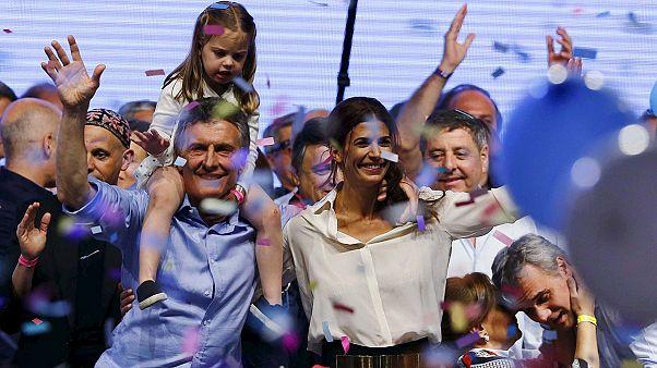 Mauricio Macri élu président de l'Argentine