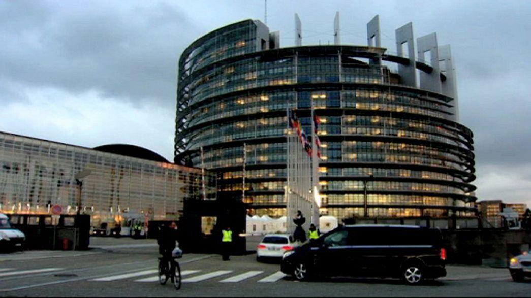 Segurança reforçada no Parlamento Europeu