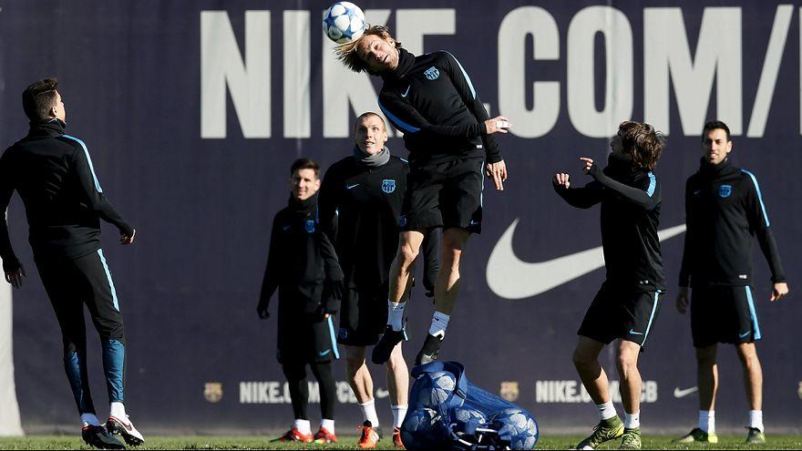 Barcelona eye Champions League last 16 ticket