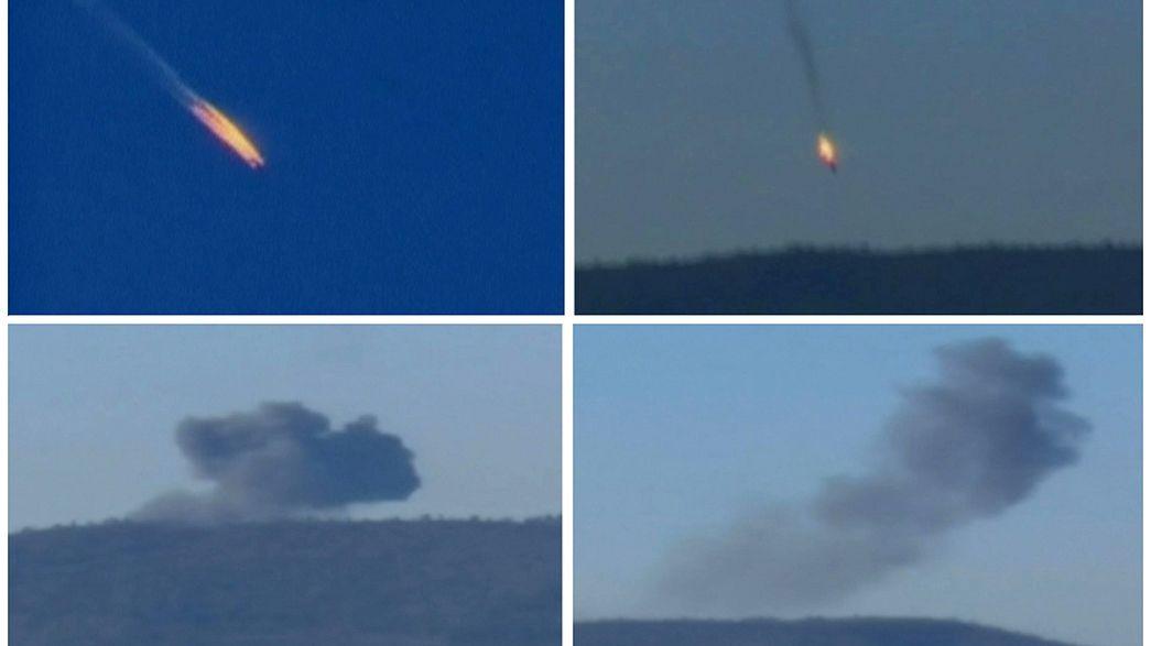 """Schicksal russischer Piloten ungewiss: """"Wir alle haben sie in der Luft beschossen"""""""