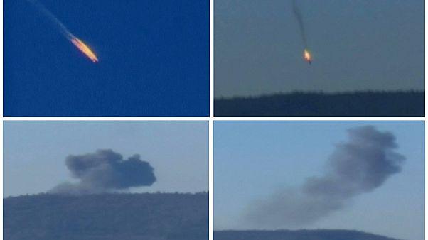 Un caza ruso abatido por la Fuerza Aérea turca en la zona fronteriza con Siria