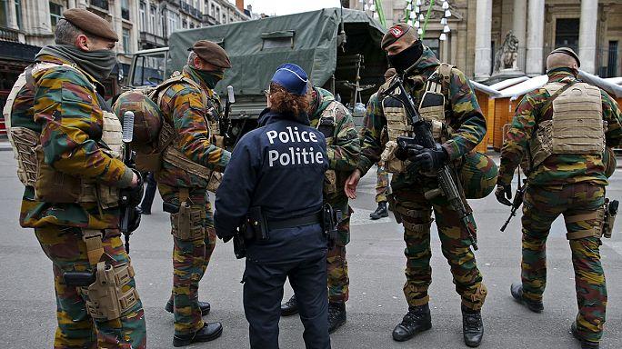 Továbbra is terrorriadó van Brüsszelben