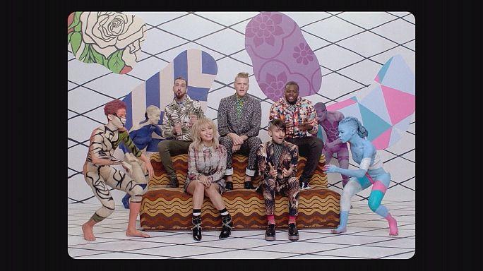 Kapela müzik grubu Pentatonix'in albüm heyecanı