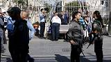 Tension and panic in Jerusalem after 'scissor attack on Israeli'