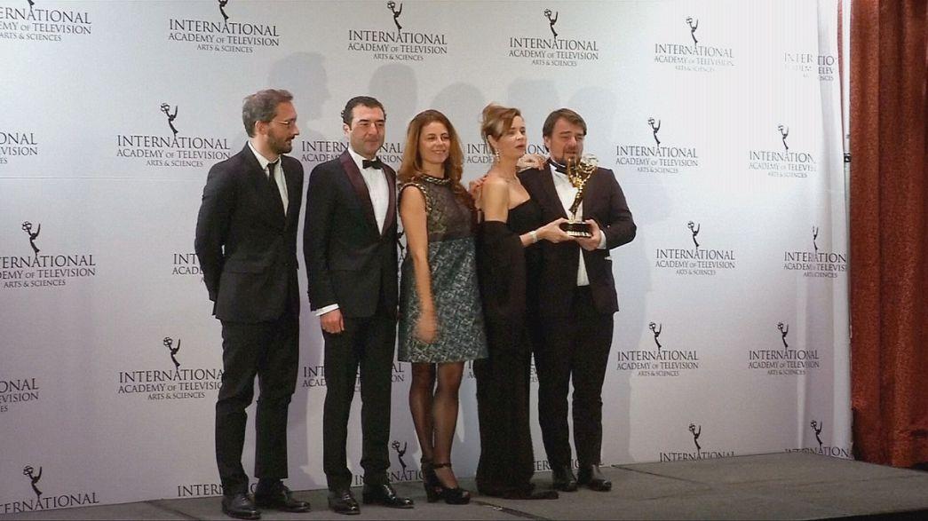 Francia diadal a Nemzetközi Emmy-gálán