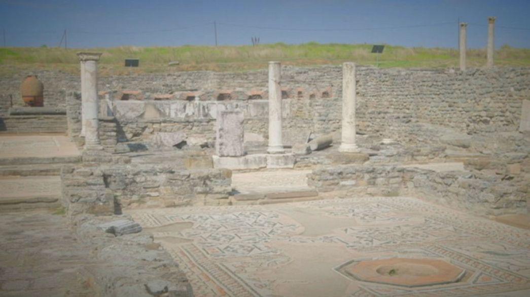El sitio arqueológico de Stobi