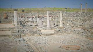 Le site archéologique macédonien de Stobi