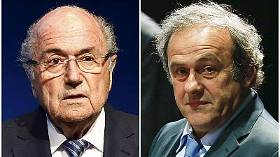 FIFA's ethics committee seek life bans for Blatter and Platini