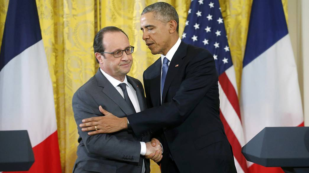 François Hollande e Barack Obama: uniti contro il terrorismo