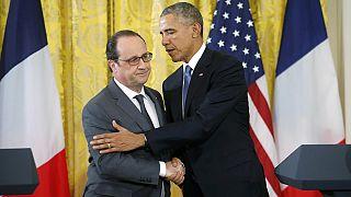 باراک اوباما و فرانسوا اولاند متحد و مصمم برای مقابله با تروریسم