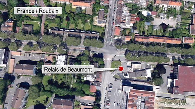 На севере Франции снова захватили заложников