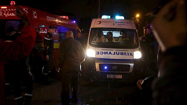 انفجار در اتوبوس حامل اعضای گارد ریاست جمهوری تونس