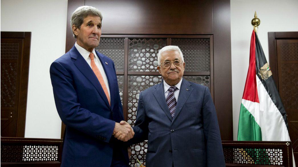 Kerry-Reise: Trotz Gewalt neue Bemühungen der USA im Nahostkonflikt