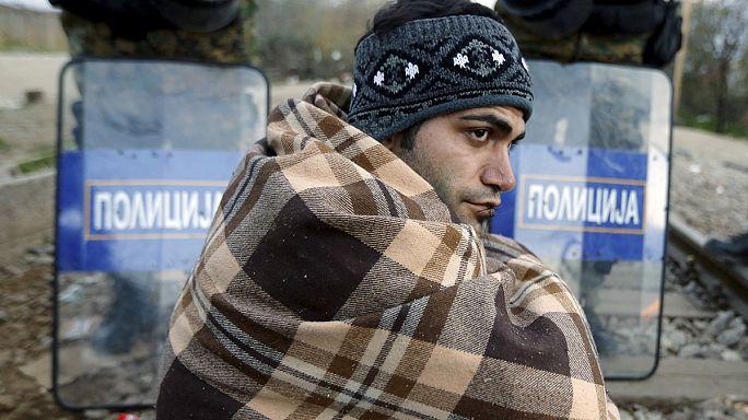 Grèce : près de 1 500 demandeurs d'asile bloqués à la frontière macédonienne