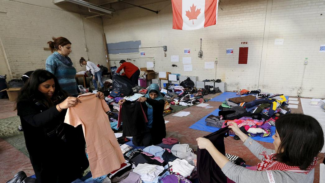 Canadá abranda recepção de refugiados sírios