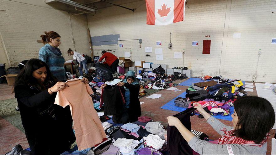 Idén csak 10 ezer menekültet fogad Kanada