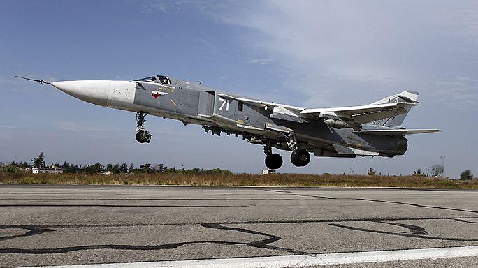 Megmentették a lelőtt orosz bombázó életben maradt pilótáját