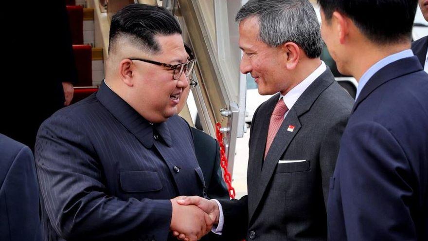 Kim Jong Un arrives in Singapore ahead of Trump summit