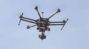 Drones playing a crucial part in helping the Spanish Ibex goats.