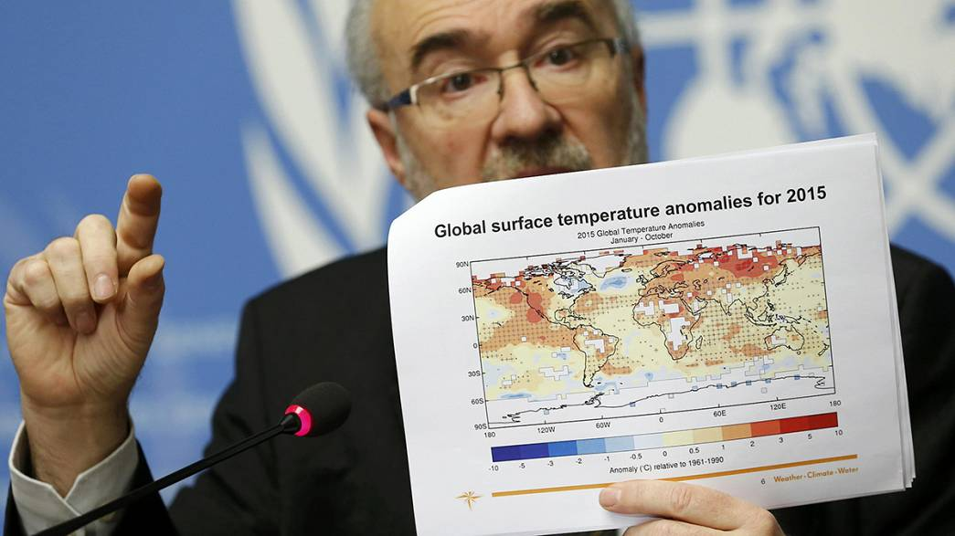 WMO warns 2015 the hottest year on record