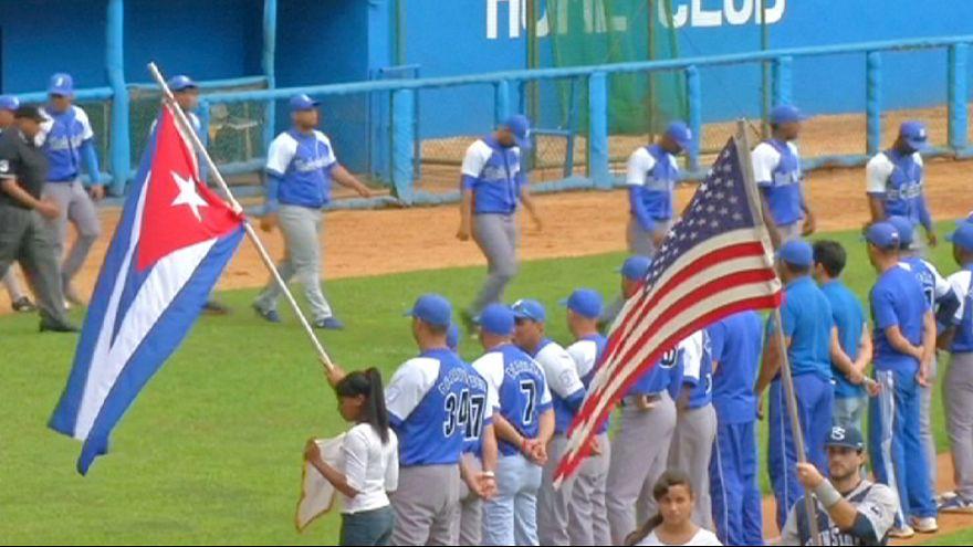 El deshielo entre Estados Unidos y Cuba llega al béisbol
