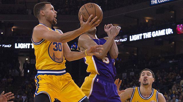 NBA'de Golden State Warriors fırtınası