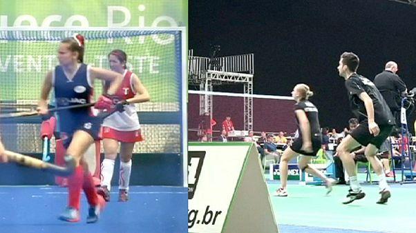 Rio Olympics: hockey and badminton venues under the spotlight