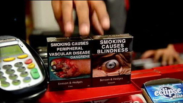 France introduces plain cigarette packaging