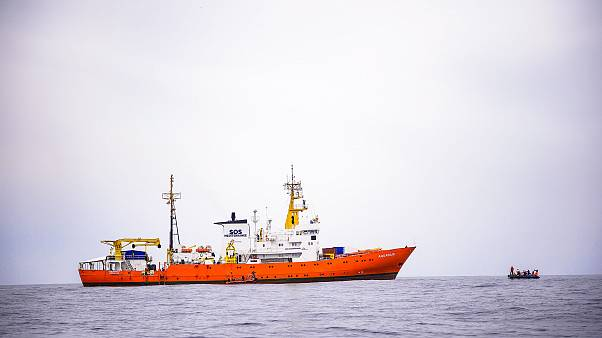 Image: Rescue vessel Aquarius