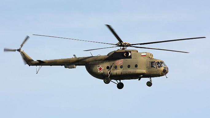 Авария Ми-8 в Красноярском крае