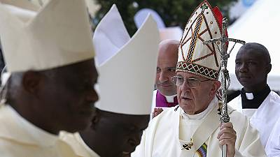 Pope disgusted by 'barbarous attacks' in God's name