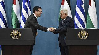 Παλαιστίνη: Υπέρ της ίδρυσης παλαιστινιακού κράτους στα σύνορα του '67, ο Αλέξης Τσίπρας