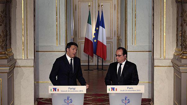 Hollande prossegue esforços para unir Washington e Moscovo no combate ao ISIL