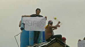 Se extienden las protestas en las cárceles de Bolivia