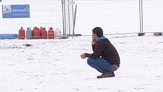 Refugees' new challenge: Europe's winter