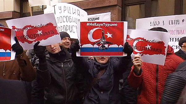 جنگ لفظی میان رهبران روسیه و ترکیه درپی تیرگی روابط دو کشور