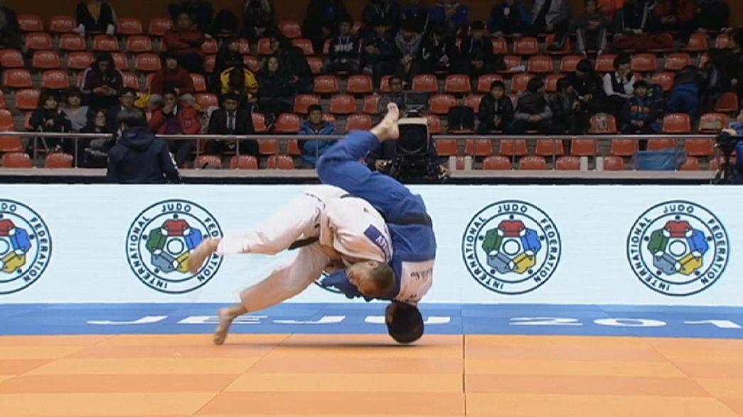El surcoreano Won Jin Kim brilla en el Gran Premio de Jeju de yudo