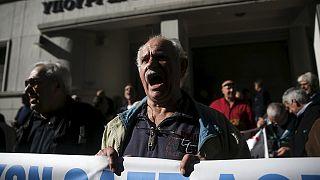 Les retraités à nouveau mobilisés en Grèce