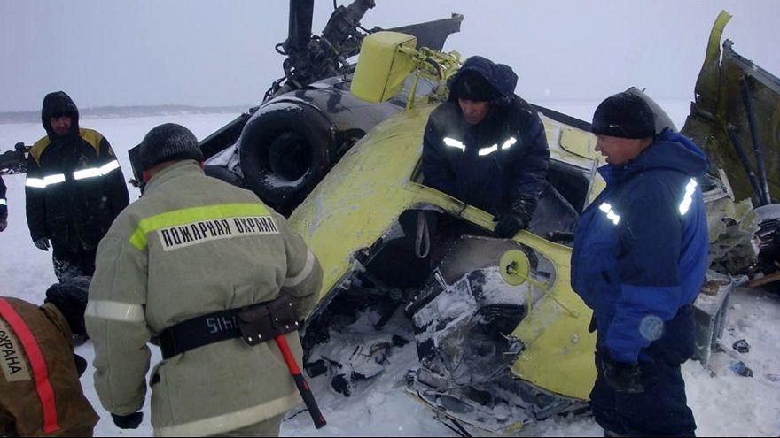 10 Rosneft workers killed in Krasnoyarsk helicopter crash